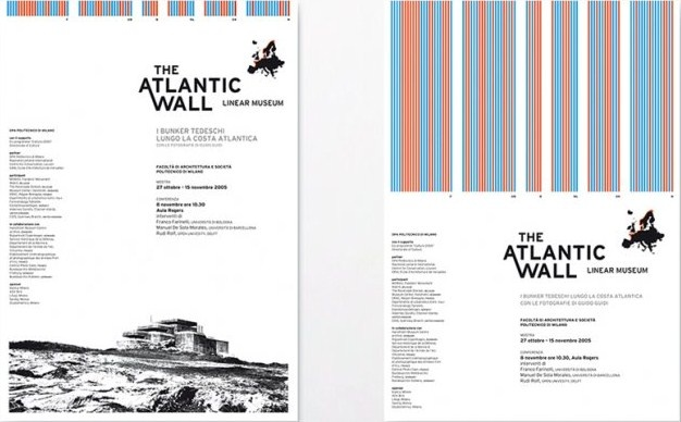 Silvia Sfligiotti - International research project of the Architecture Department of the Politecnico di Milano, co-ordinated by Gennaro Postiglione, with the objective of documenting and preserving the fortifications of the Vallo Atlantico and their historical meaning. Within the project a website, a book, a conference and a touring exhibition were made.