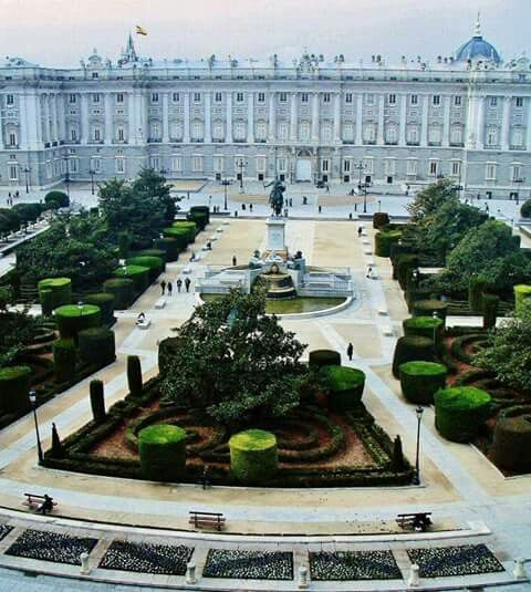 Plaza de Oriente, Madrid  ✈✈✈ Don't miss your chance to win a Free Roundtrip Ticket to Madrid, Spain from anywhere in the world [GIVEAWAY] ✈✈✈ https://thedecisionmoment.com/free-roundtrip-tickets-to-europe-spain-madrid/