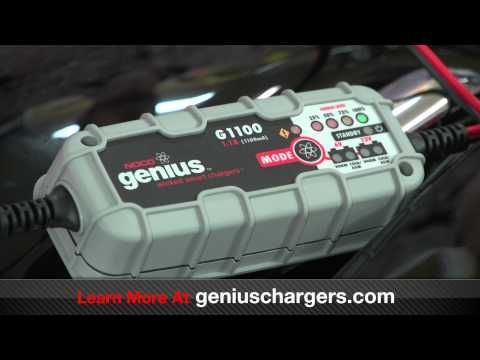 How To Charge A Motorcycle Battery    Charging a Motorcycle battery has never been easier. Learn how to charge and maintain your Motorcycle battery, and some helpful tips on increasing the life of your battery with smart battery chargers.    To learn more, visit: http://www.geniuschargers.com