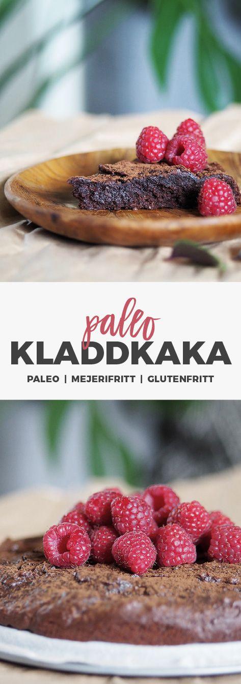 Recept: Kladdkaka paleo. Glutenfri, mjölkfri utan raffinerat socker.