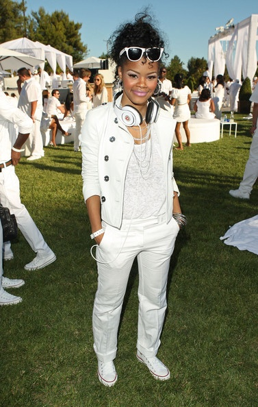 """Teyana Taylor Photo - Sean """"Diddy"""" Combs, Ashton Kutcher and Malaria No More Host The White Party"""