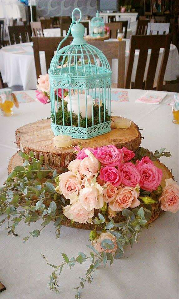 Spring flowers baptism party! See more party planning ideas at CatchMyParty.com!