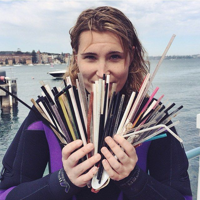Plastic straws are ending up in our oceans by the thousands and devastating marine ecosystems.