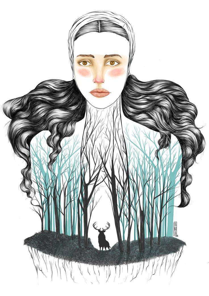 The Mother  Digital illustration