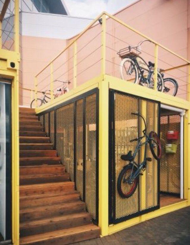 Pop up store , tienda de bicicletas
