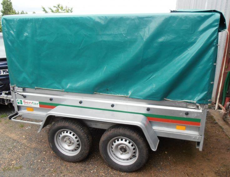 Remorque double essieux 500kilos elle peut être bâchée ou pas. Location remorque bâchée à Brion (71190)_placedelaloc.com/location/equipements-auto/remorques