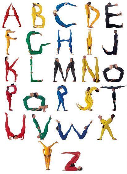 pilobolus alphabet