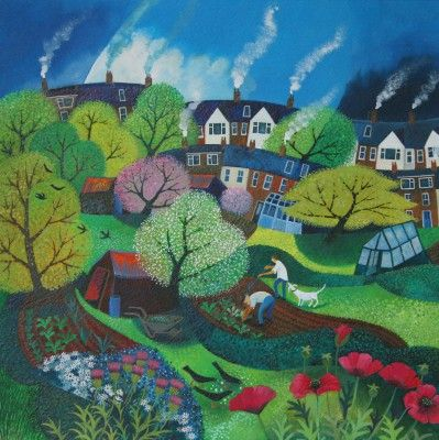 Lisa GRAA JENSEN - Veggie Patch