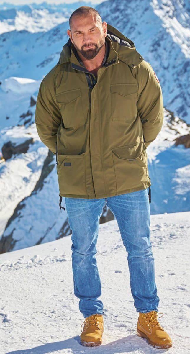 Spectre Austria Dave Bautista Tan Jacket