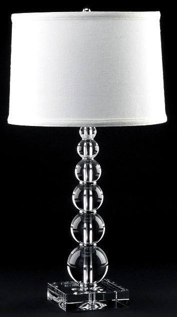Lamp Works Estrella Orb Crystal Table Lamp | LampsPlus.com