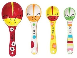 Measuring Spoons by Boston Warehouse - eclectic - measuring cups and spoons - by Cooking