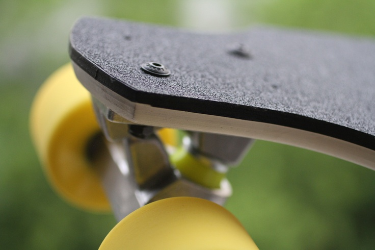 Custom mini-cruiser skateboard.
