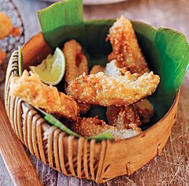 These are a must try!   Fried Bananas recipe from the book, 'Burma: Rivers of Flavor' & also reprinted in Fine Cooking October 2012