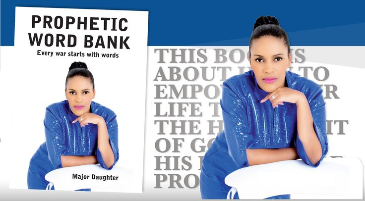 The Bible is our Heavenly Bank, Prophetic Word Bank is designed by the Holy Ghost to alter your destiny forever.  Be Updated and Upgraded with the latest version of GraceWorld Church, Get Prophetic Word Bank.The book is currently available at the GraceWorld Church Bookshop or you can contact us on 071 166 1616 or email writeus@majordaughterlive.org