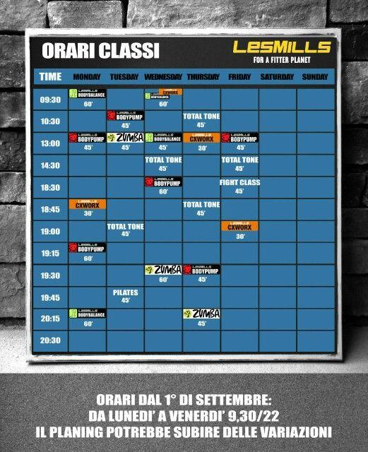 Planning Fitness studio online #crossfit #gallarate #readytostart #lesmills #reebok #reebokone