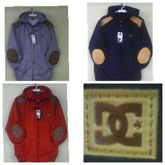 #jaketfleece DC ELBOW, bahan fleece Harga 75k, fit L www.ramailancar.com www.facebook.com/tokobajurajutmurah 085722126318