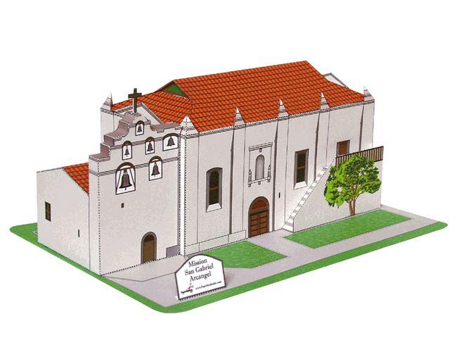 Mission San Gabriel | 4th Grade Mission Project Ideas ...