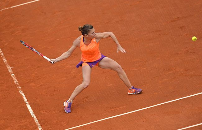 After making the quarters at the Australian Open, No.4 seed Simona Halep does it again at the French.