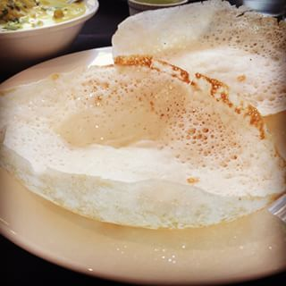 Special request today ! Appam with vegetable stew