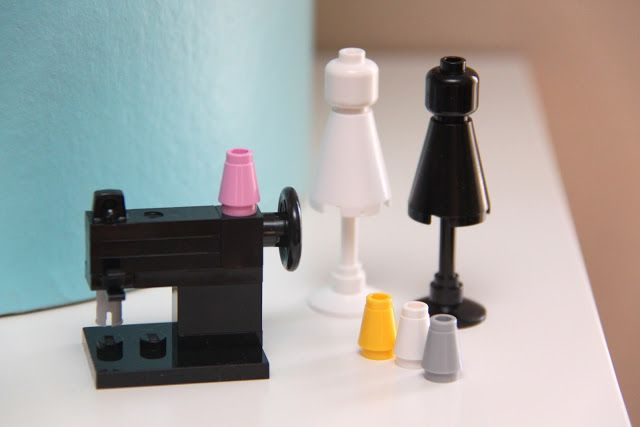 Lego sewing room