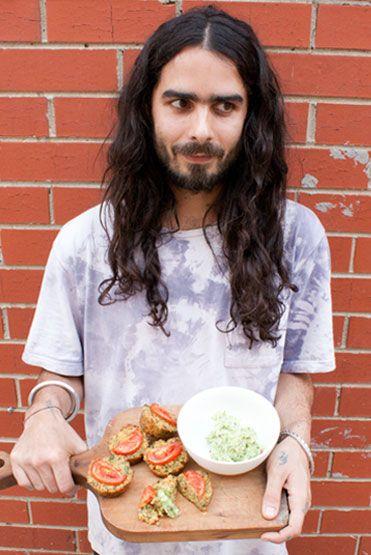 Loving Earth - Recipes - Chia Quinoa Muffins with Coconut Garlic Butter
