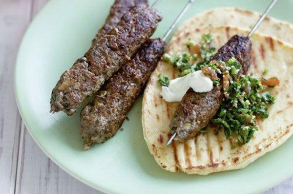 Receta de kabab mashwi o Kafta | Recetas Arabes | Recetas de Cocina Arabe