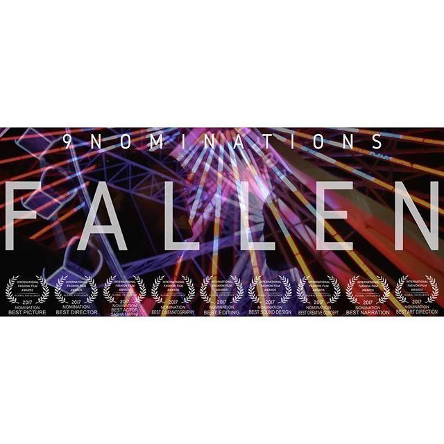 F A L L E N #hungryvoyeur . . . 9 NOMINATIONS FOR OUR LITTLE FILM! Watch the Official Trailer here: https://vimeo.com/187633253  Thanks to the amazing Cast & Crew. #lajollafashionfilmfestival #ljfff #ljifff #ljfff2017 #filmfestival #festival #festivalfashion #internationalfestival #fashionfestival #fashionfilmfestival #vogue #lofficiel #marieclaire #screening #nomination #festivalnomination #shortfilm #trailer #california #sandiego #lajolla #comiccon #redcarpet #worldpremiere #premiere…