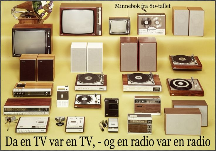 FM radioen slukkes ned, og TV blir bare flatere og flatere. Dette var tider, og slik skal skikkelig radio og tv se ut:)