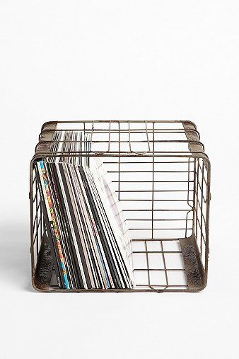 Wire Storage Basket...again, can probably be found elsewhere, but this is the idea.