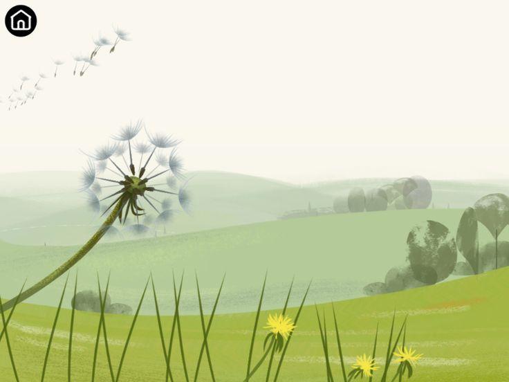 Dandelion screenshot from Bloom app.
