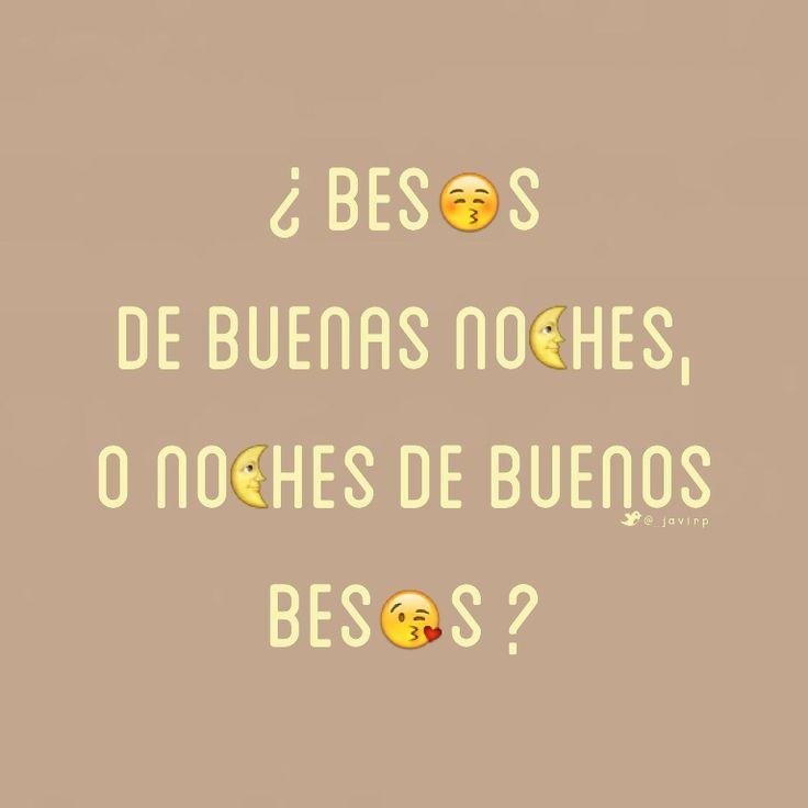 Besos..
