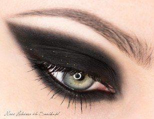 Пошаговый урок макияжа smoky eyes! 0