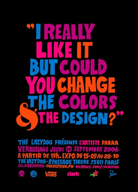 Designer's burden / Colors