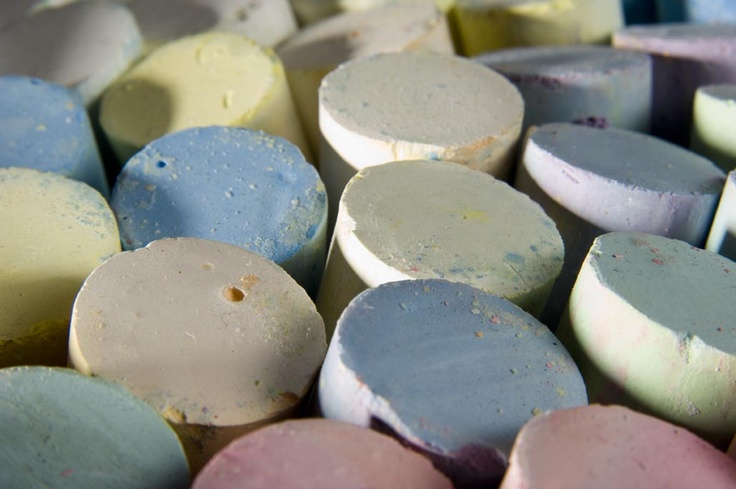 A variety of classic chalk pastels