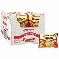 Maruchan Ramen Noodle Soup, Beef flavor (36/3oz.) - Sam's Club