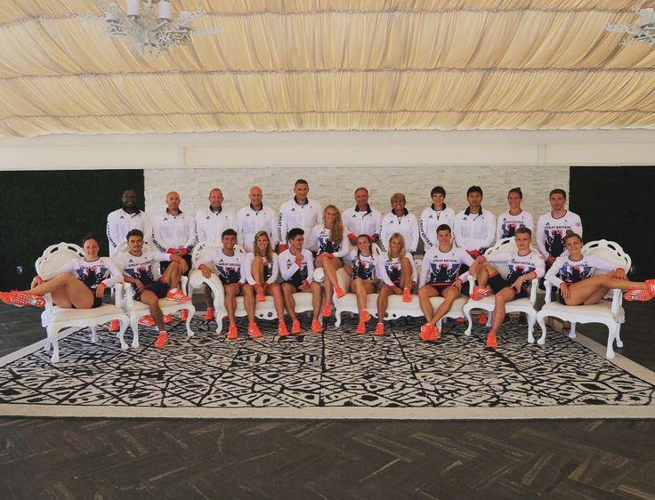 "495 Likes, 4 Comments - Sarah Barrow (@sarahbarrow88) on Instagram: ""Team GB diving team ready for Rio 🇬🇧 #strong"""