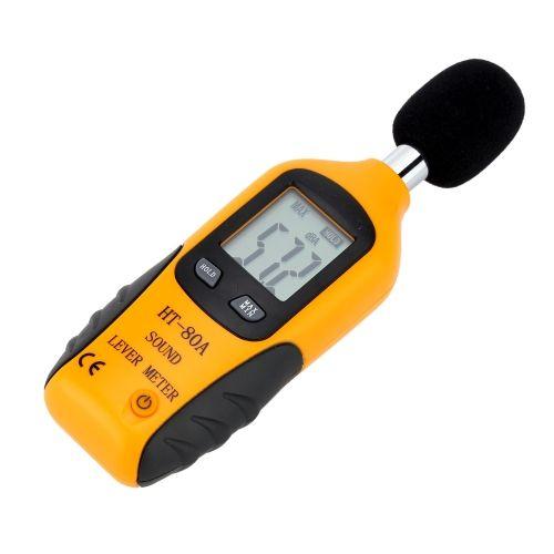 LCD Digital Sound Level Meter Noise Measuring Instrument Decibel Monitoring Logger Tester 40-130dB