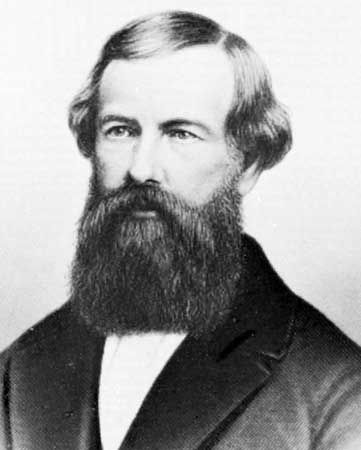 Elisha Graves Otis (1811-1861) was the founder of the Otis Elevator Company, and inventor of a safety device that prevents elevators from falling if the hoisting cable fails.