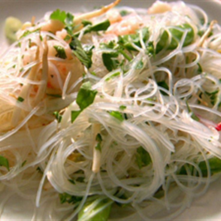 Try this Vietnamese Prawn and Glass Noodle Salad recipe by Chef Nigella Lawson. This recipe is from the show Nigella Feasts.