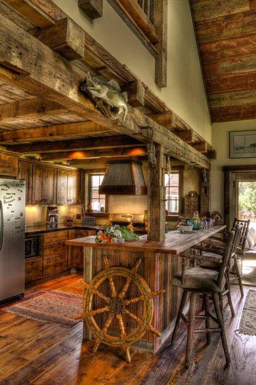 Cabin ~ Kitchen