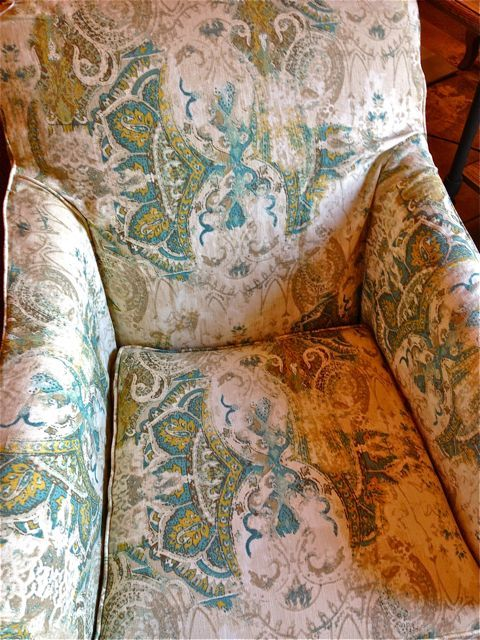 Faded Paisley Chair Duh For The Home And Garden   Pensacola: Http://