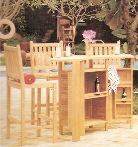 Some Art Product Design Bar Set Table - Chairs