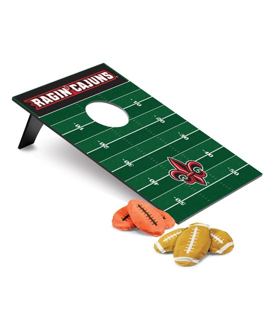 Louisiana Lafayette Ragin' Cajuns Football Beanbag Throw Game