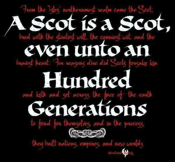Scot is a Scot