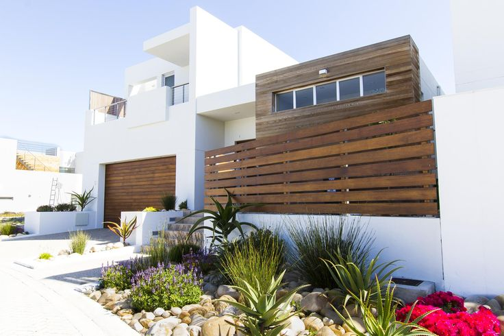 Frontal view of this modern residence #architecture #capetown