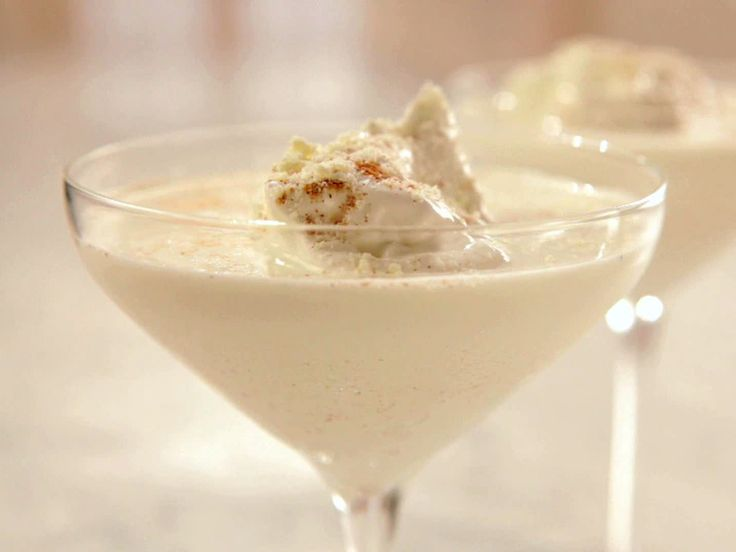 White Chocolate Eggnog Recipe : Sandra Lee : Food Network - FoodNetwork.com