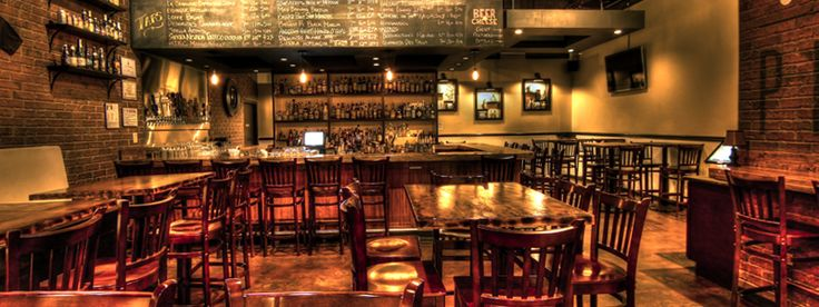 PINT + JIGGER - 21 rotating beers on tap and astounding whiskey collection.