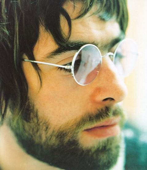 Liam Gallagher, Oasis. One of my favourite photographs of him.