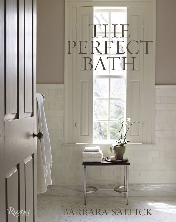 Waterworks' Cofounder Barbara Sallick just released her new book The Perfect Bath, the ultimate guide to a stylish bathroom makeover. Forty years of experience later, Sallick is sharing her secrets, tips and tricks. ➤To see more Luxury Bathroom ideas visit us at www.luxurybathrooms.eu #luxurybathrooms #homedecorideas #bathroomideas @BathroomsLuxury ➤To see more Luxury Bathroom ideas visit us at www.luxurybathrooms.eu #luxurybathrooms #homedecorideas #bathroomideas @BathroomsLuxury