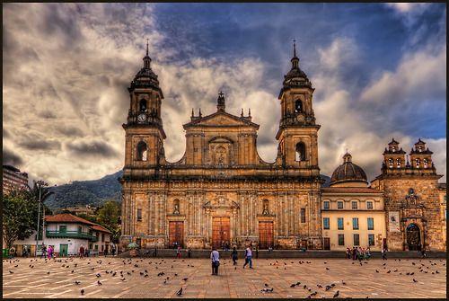 Bogota, Colombia catedral Primada